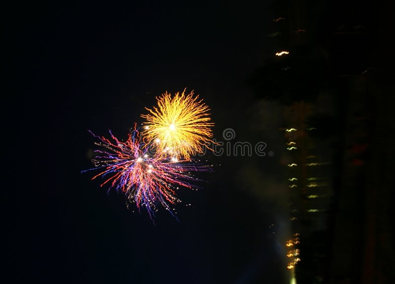 Feu D Artifice Photos libres de droits