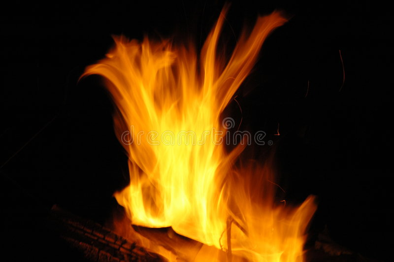 Feu de camp 2 photo stock