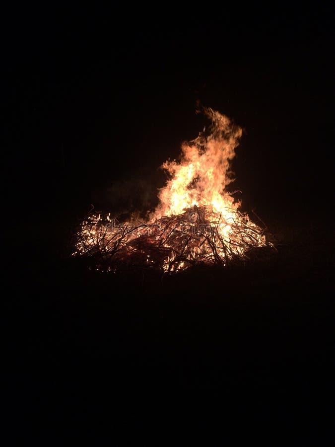 feu de San Juan photographie stock