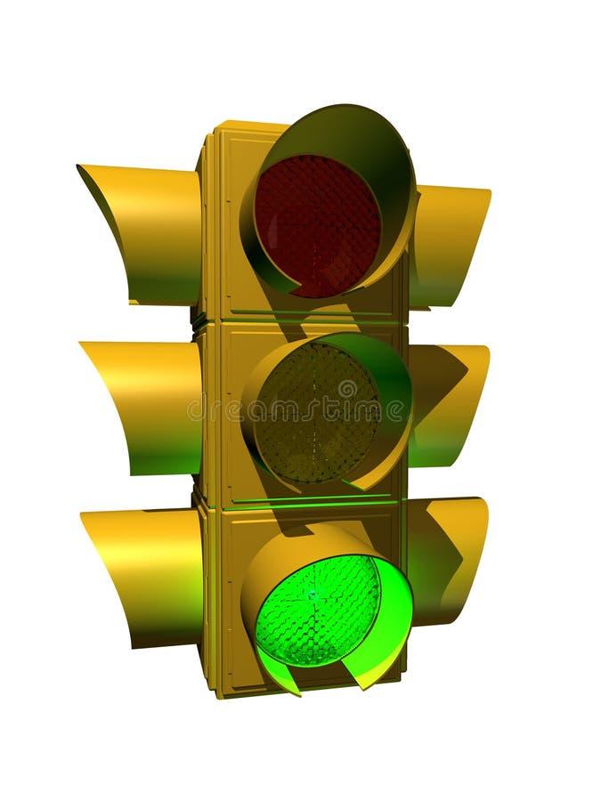 Feu de signalisation illustration stock