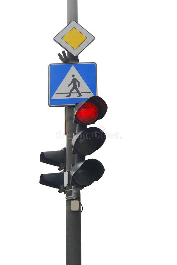 Feu de signalisation photo libre de droits