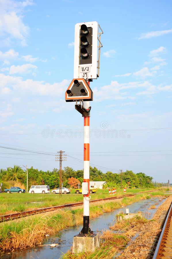 Feu de signalisation photos stock