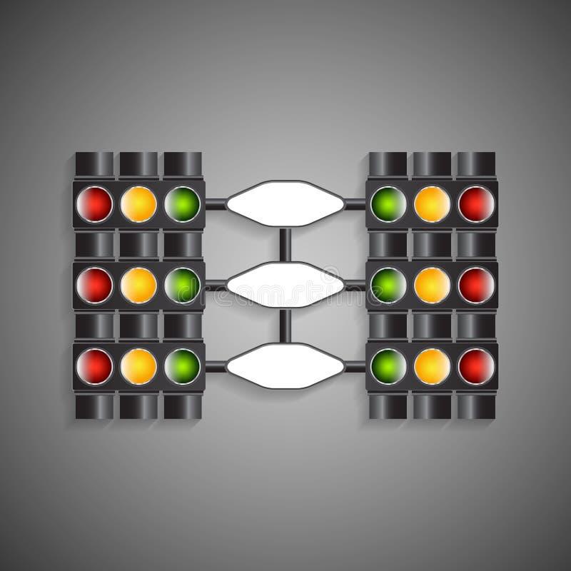 Download Feu de signalisation illustration de vecteur. Illustration du créativité - 45355107
