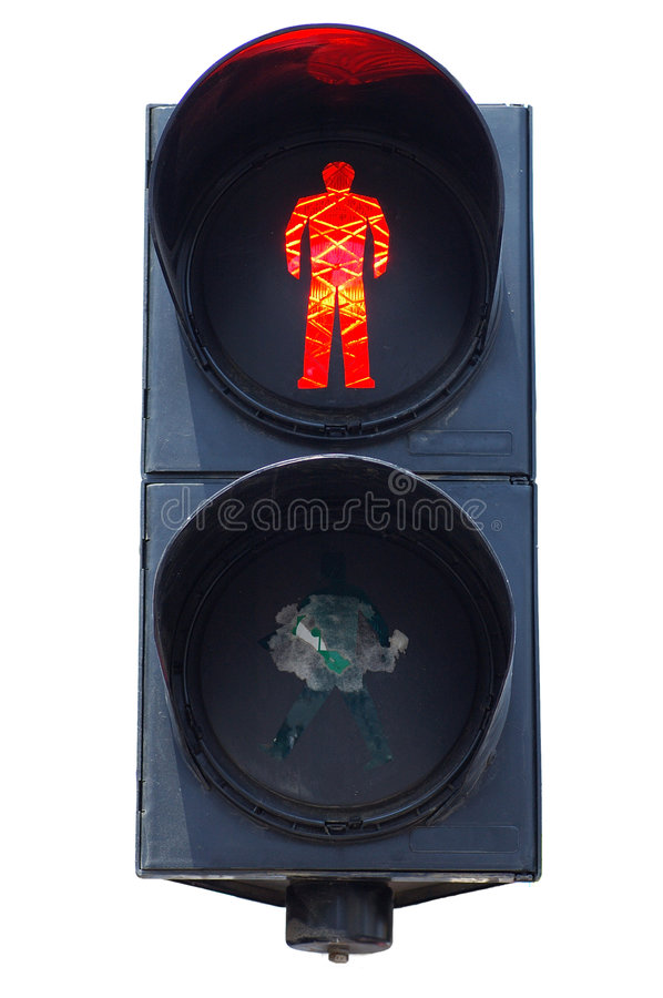 Feu de signalisation photo stock