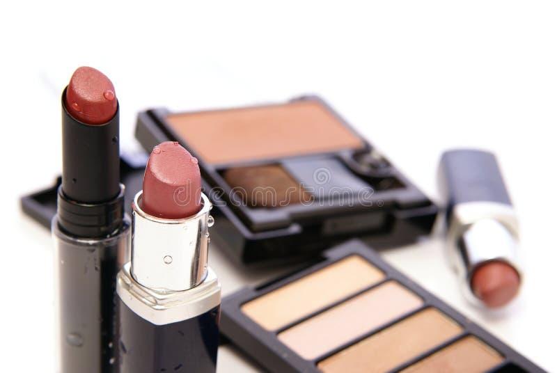 Feuchter Lippenstift lizenzfreies stockfoto