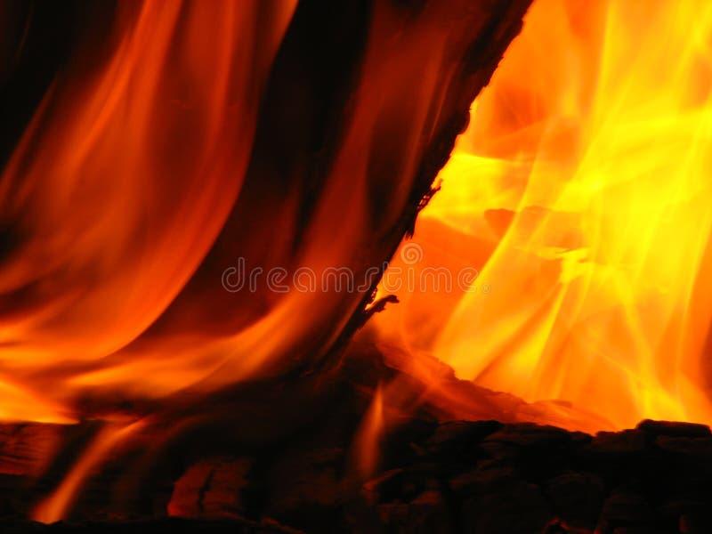Feuer 6 stockfotografie