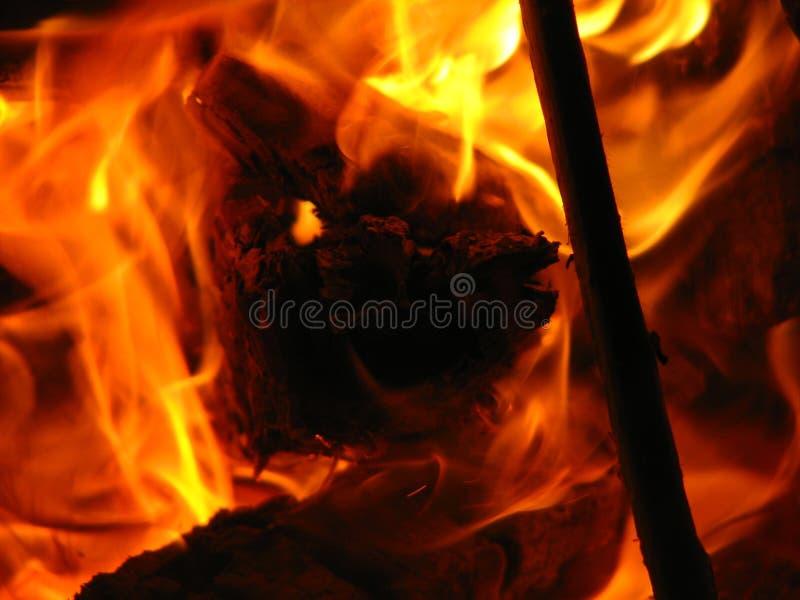 Feuer 4 lizenzfreies stockfoto