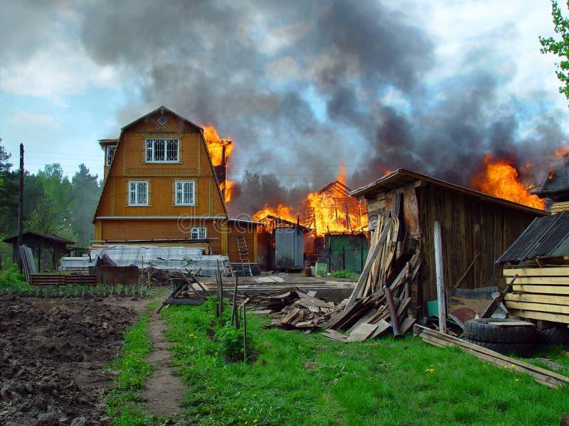 Feuer. stockbilder