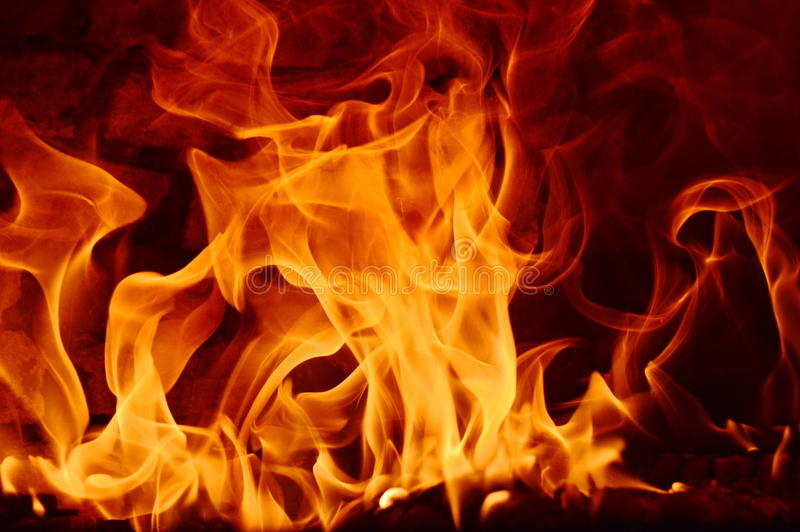 Feuer abstarct lizenzfreie stockfotografie