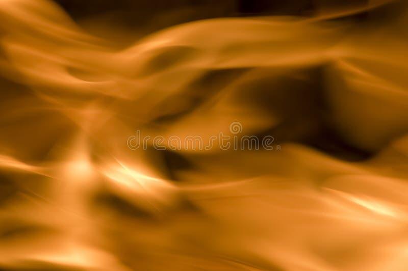 Feuer auf Schwarzem lizenzfreies stockfoto