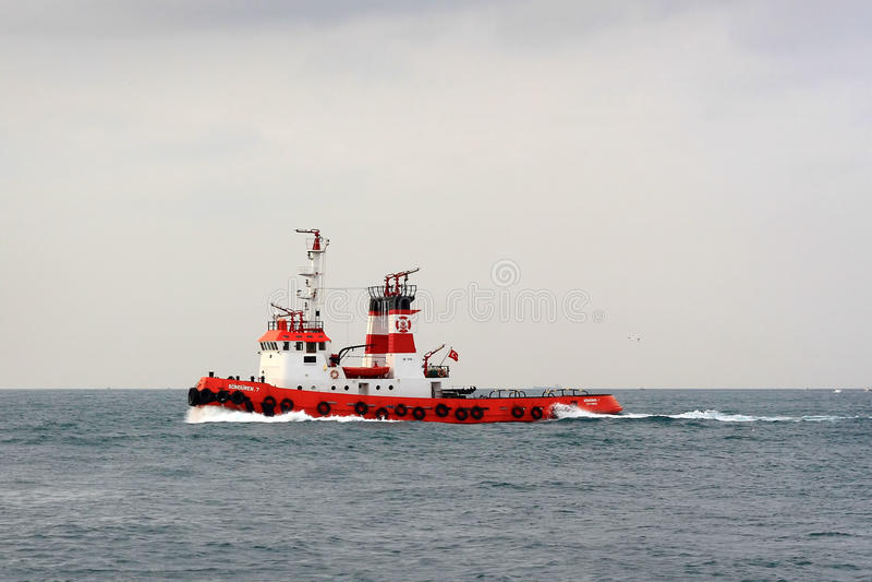 Feuer-Boot lizenzfreie stockfotos