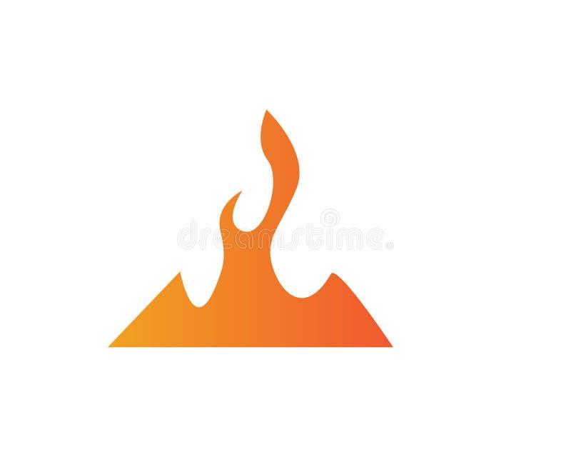Feuer stock abbildung