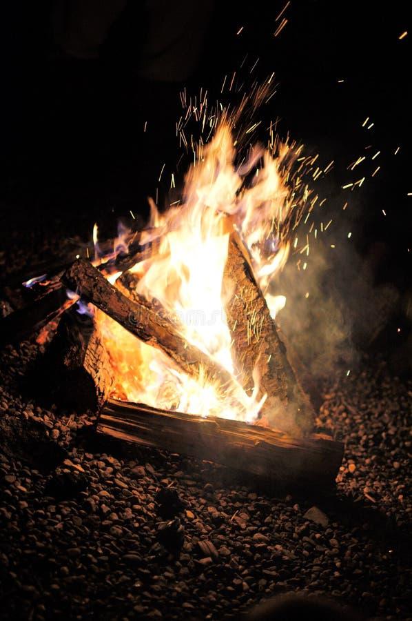Feuer-Energie und Anmut !!! lizenzfreies stockfoto