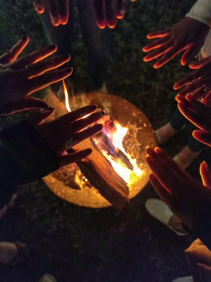 Feuer für Frieden lizenzfreies stockbild