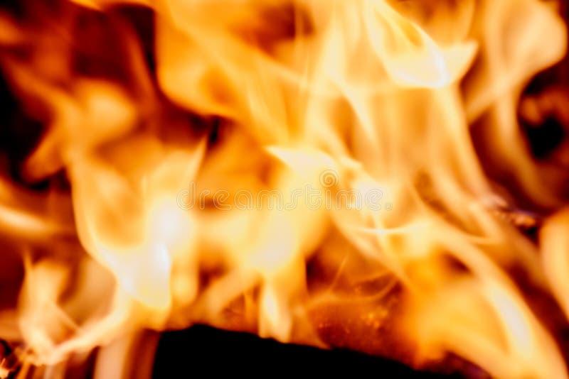 Feuer flammt Hintergrund stockfotografie