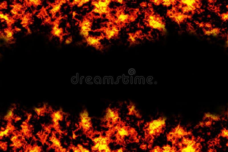 Feuer-Hintergrund stock abbildung