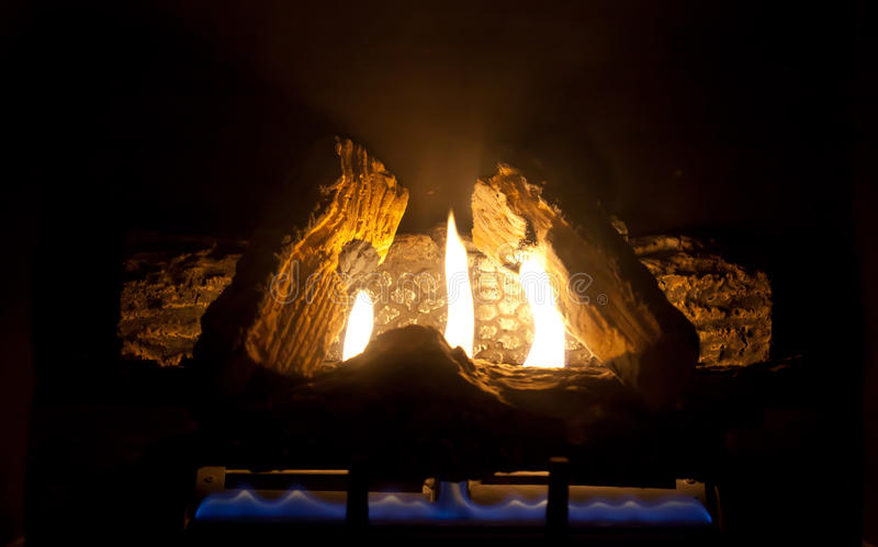 Feuer-Platz lizenzfreie stockfotografie