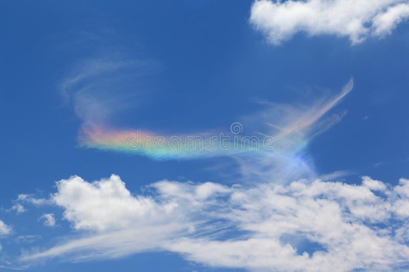 Feuer-Regenbogen stockfotografie