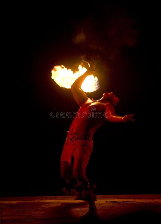 Feuer-Tanz 2535 stockbilder