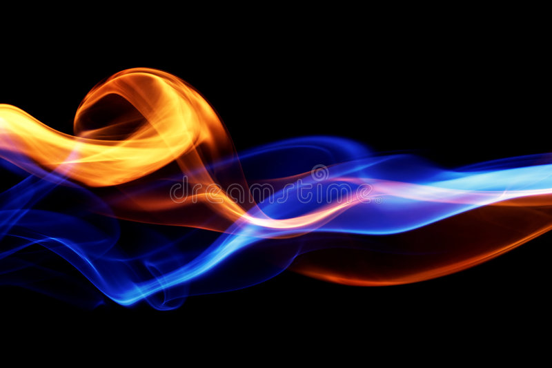 Feuer- u. Eisauslegung lizenzfreies stockfoto