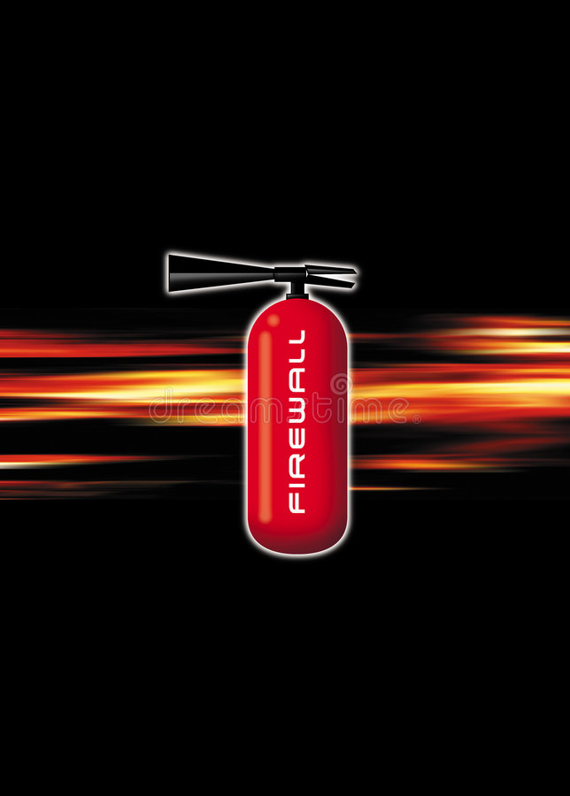 Feuer-Wand vektor abbildung