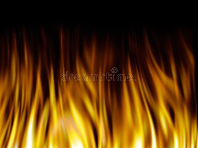 Feuerbeschaffenheit lizenzfreie abbildung