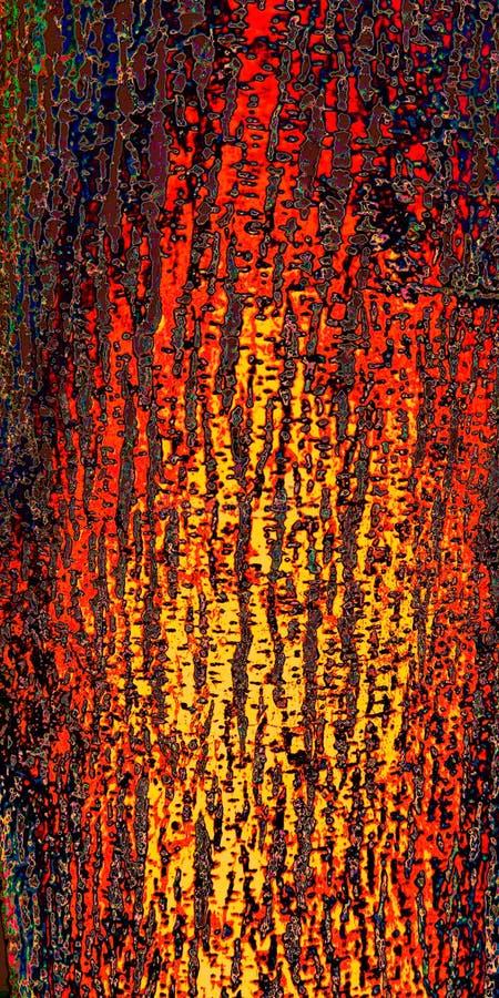 Feuerbeschaffenheits-Kunstentwurf für Foto der Wanddekorationen auf Lager stockbild