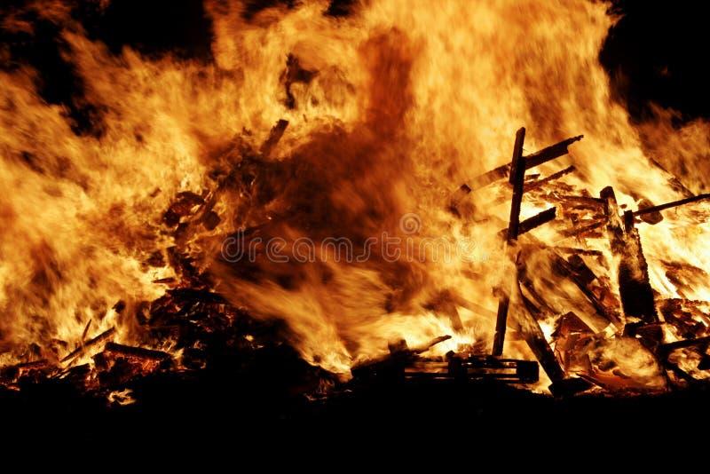 Feuerfeuer stockfoto