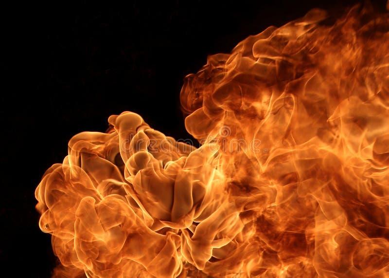 Feuerflamme lizenzfreies stockfoto