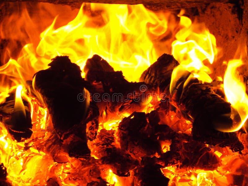 Feuerflamme lizenzfreies stockbild