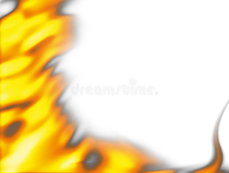 Feuerflammen stock abbildung