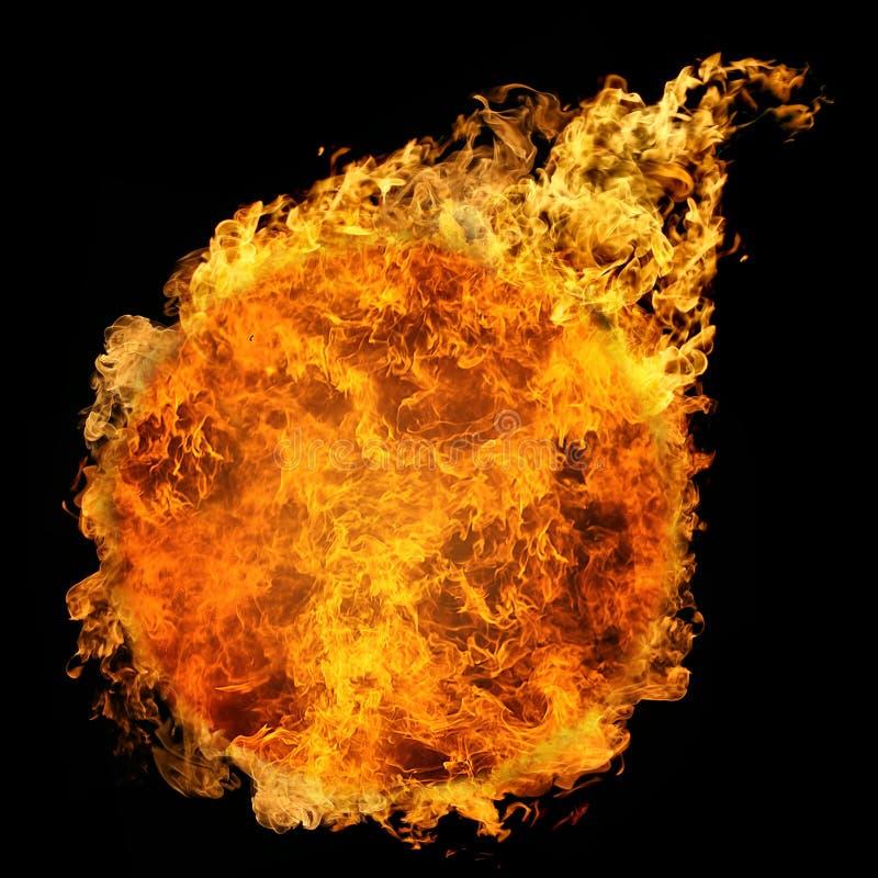 Feuerkugel stock abbildung