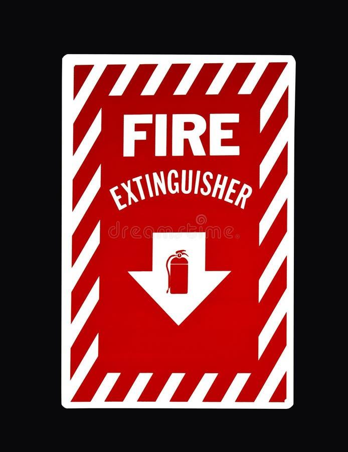 Feuerlöscherzeichen stockbilder