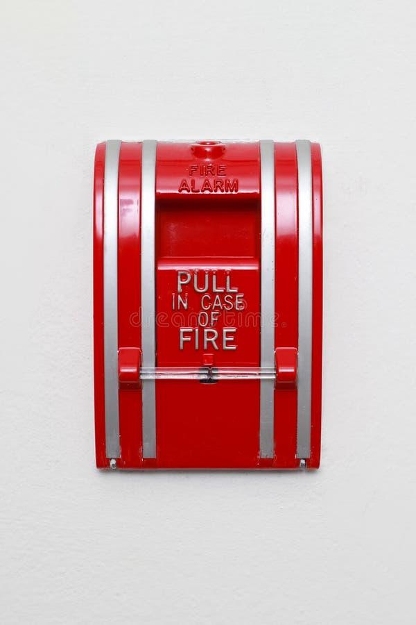 Feuermelder stockfotografie