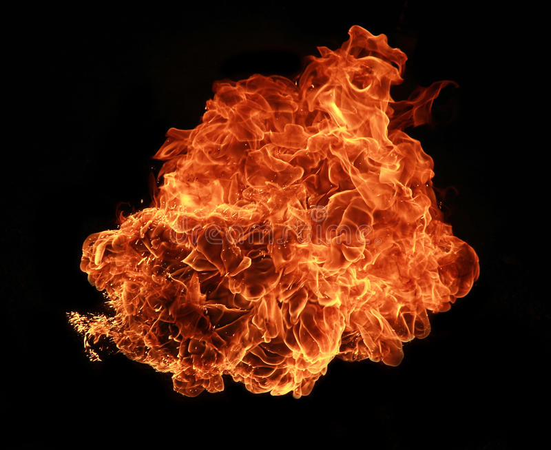 Feuern Sie Explosion ab stockbilder