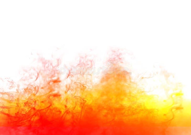 Feuern Sie Flammen ab lizenzfreie abbildung