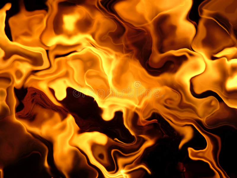 Feuernebel stock abbildung