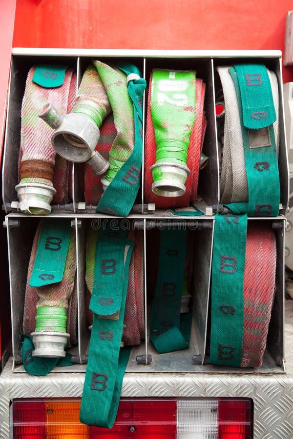 Feuerreifennetzkabel. stockbilder