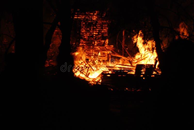 Feuersbrunst/brennende Feuerwehrmänner /fire, Leute auf Feuer lizenzfreie stockfotografie