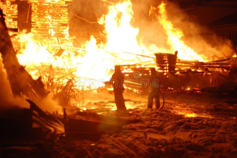 Feuersbrunst/brennende Feuerwehrmänner /fire, Leute auf Feuer lizenzfreie stockbilder
