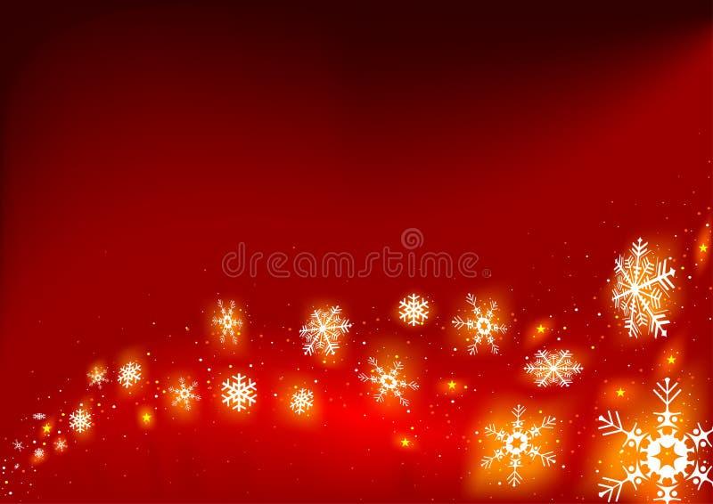 Feuerschneeflocken stock abbildung