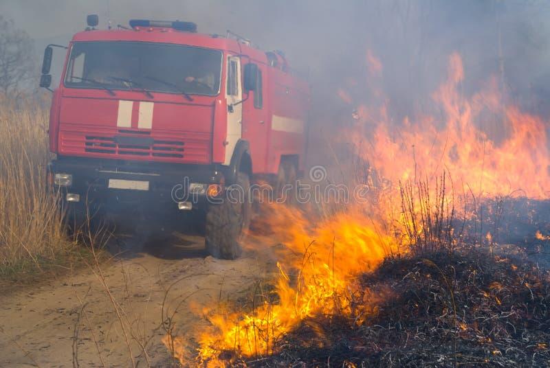 Feuerspritze und Flamme 4 stockfotos