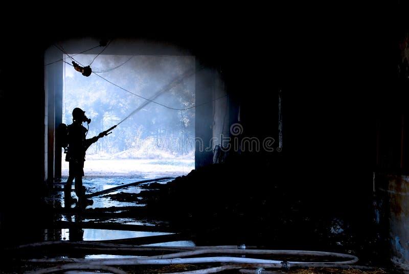 Feuerwehrmann lizenzfreie stockfotografie