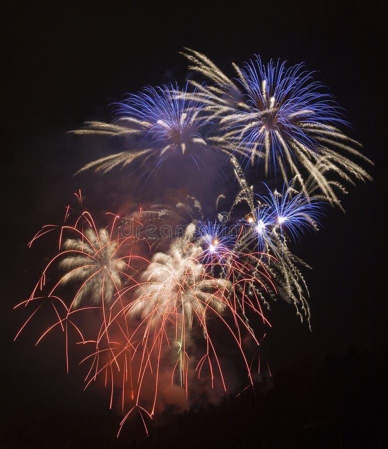 Feuerwerk lizenzfreies stockfoto