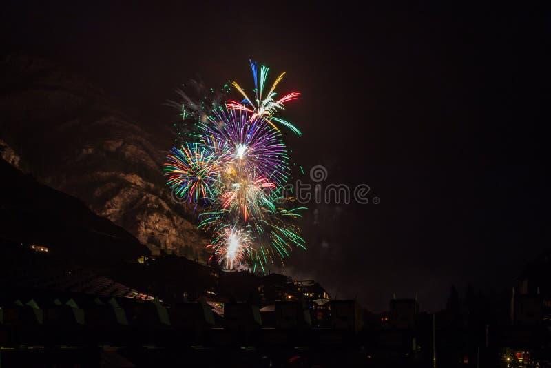Feuerwerk zdjęcia stock