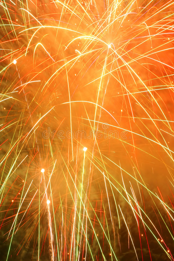 Feuerwerk-Auszug stockfoto