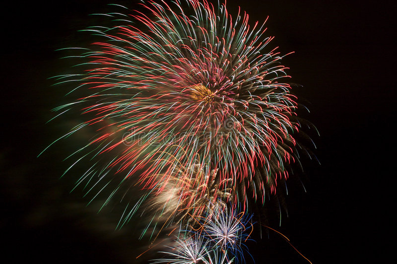 Feuerwerke 17 lizenzfreie stockfotos