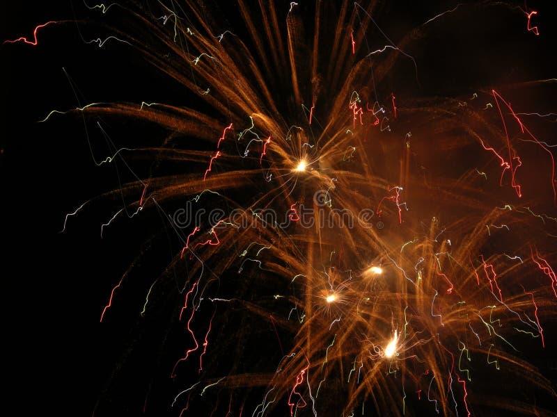 Feuerwerke 4 stockfoto