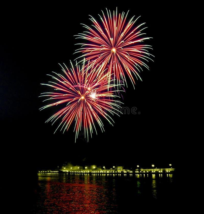 Feuerwerke [6] Lizenzfreies Stockbild