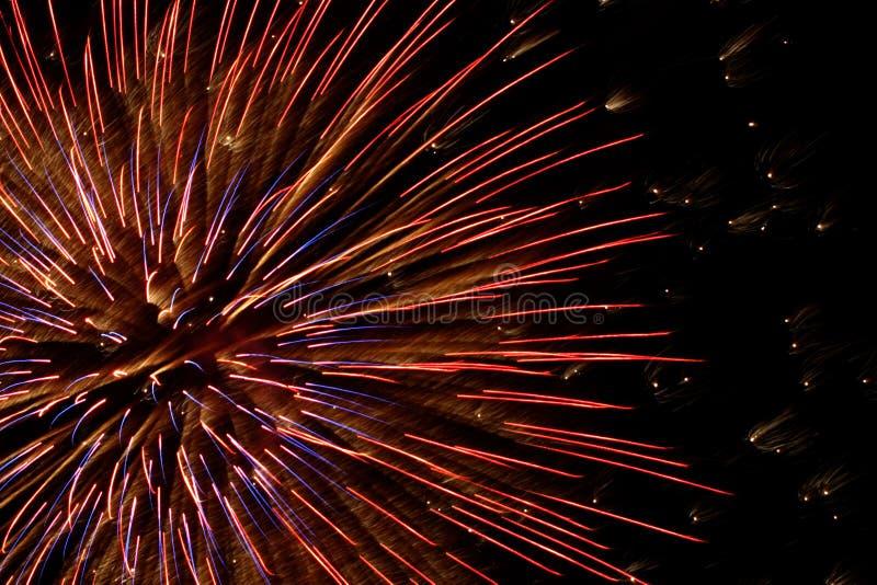 Feuerwerke 8 lizenzfreies stockfoto